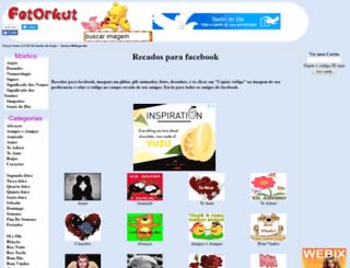 fotorkut.com.br screenshot