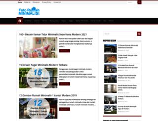 fotorumahminimalis.com screenshot