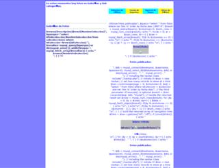 fotos.glorioso.net screenshot