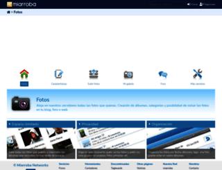fotos.miarroba.es screenshot