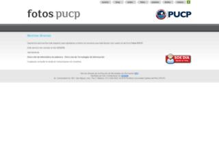 fotos.pucp.edu.pe screenshot