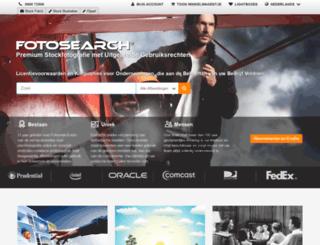fotosearch.be screenshot