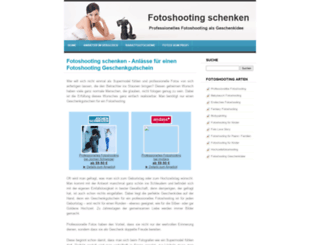 fotoshooting-schenken.de screenshot