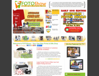 fotoshow.com.ph screenshot