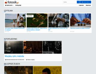 fotosik.pl screenshot