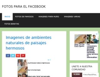 fotosparaelfacebook.com screenshot