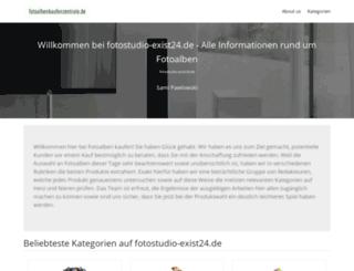 fotostudio-exist24.de screenshot