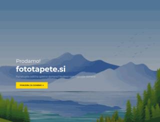 fototapete.si screenshot