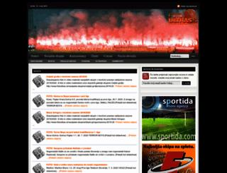 fotoultras.si screenshot