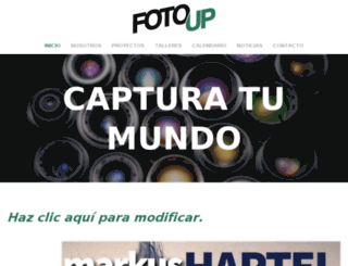 fotoup.mx screenshot