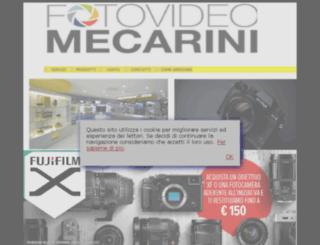 fotovideomecarini.it screenshot