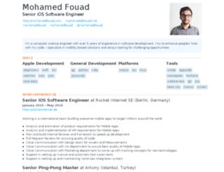fouad.me screenshot