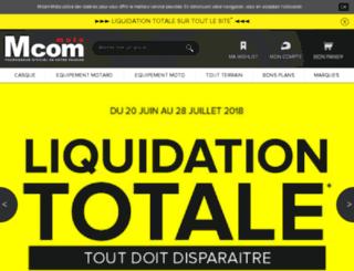 foudemoto.com screenshot