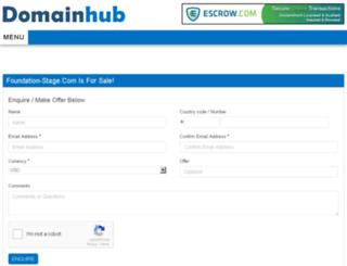 foundation-stage.com screenshot