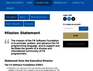 foundation.fsharp.org screenshot