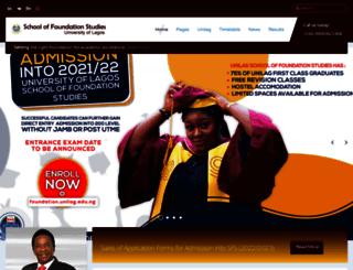 foundation.unilag.edu.ng screenshot