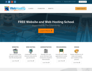 foundation.webhosting.coop screenshot
