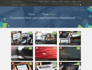foundationdeck.com screenshot