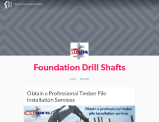foundationdrillshafts.tumblr.com screenshot