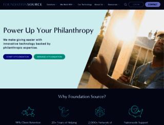 foundationsource.com screenshot