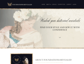 foundationsrevealed.com screenshot