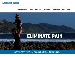 foundationtraining.com screenshot