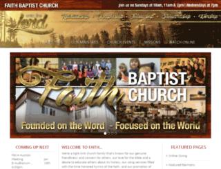 foundedonfaith.net screenshot