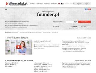 founder.pl screenshot