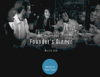 founderdinner.splashthat.com screenshot