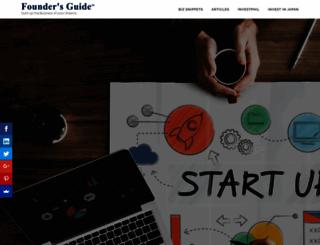 foundersguide.com screenshot