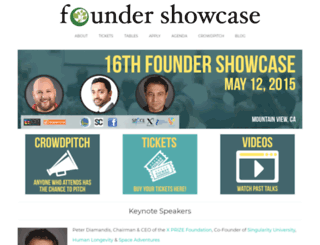 foundershowcase.com screenshot
