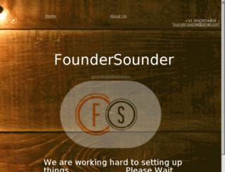 foundersounder.com screenshot