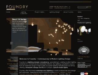 foundryonline.co.uk screenshot