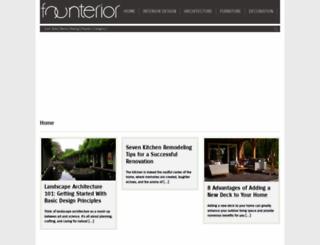 founterior.com screenshot