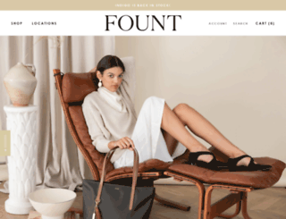 fountleather.com screenshot