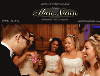 four-ace-entertainment.co.uk screenshot