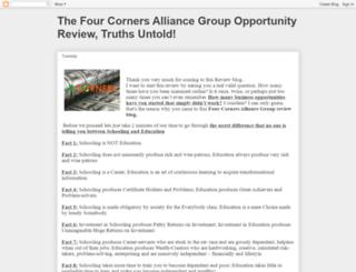 fourcorners-alliancereview.blogspot.com.ng screenshot