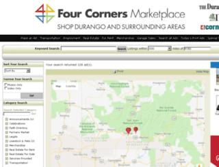 fourcornersmarketplace.com screenshot
