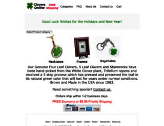 fourleafclover.com screenshot