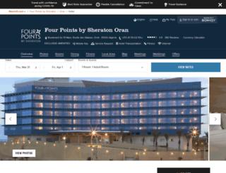 fourpointsoran.com screenshot