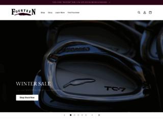 fourteengolf.com screenshot