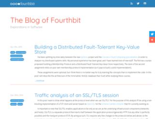 fourthbit.com screenshot