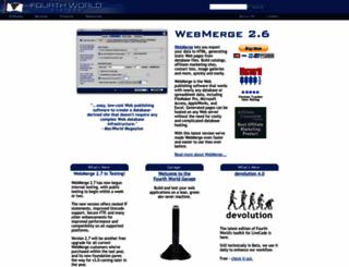 fourthworld.com screenshot