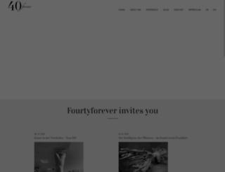fourtyforever.com screenshot