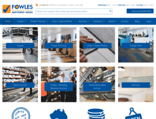 fowles.com.au screenshot