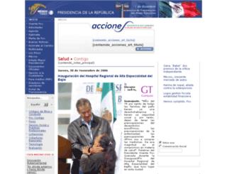 fox.presidencia.gob.mx screenshot