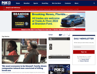 fox13news.com screenshot