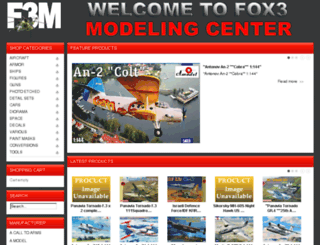 fox3models.com screenshot