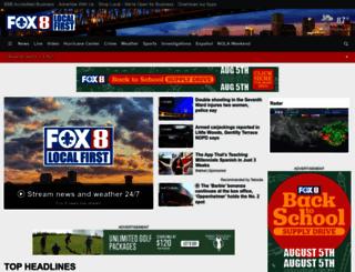 fox8live.com screenshot