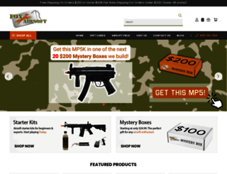 foxairsoft.com screenshot